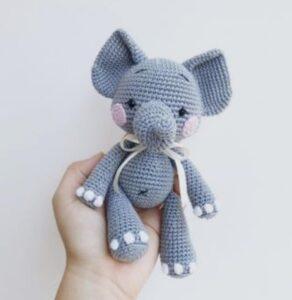 Elefante Amigurumi - Receitas de amigurumi em português